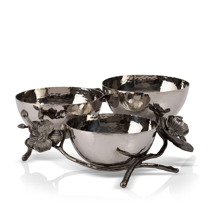 Michael Aram - Black Orchid Triple Nut Dish