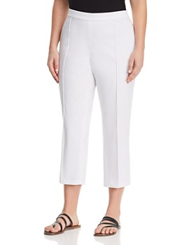 MICHAEL Michael Kors Plus - Cropped Pull-On Pants