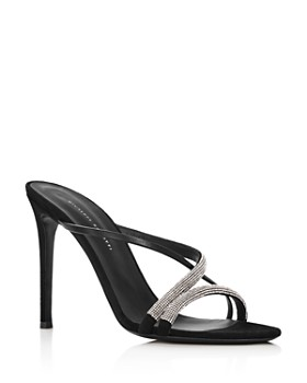 Giuseppe Zanotti - Women's PF19 Crystal-Embellished High-Heel Sandals