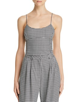 Bec & Bridge - French Liaison Houndstooth Top
