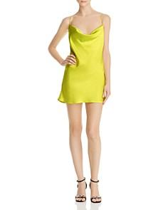 For Love & Lemons - Meringue Cross-Back Slip Dress