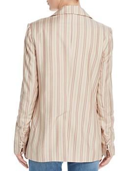 Joie - Kishina Laced-Cuffs Striped Blazer