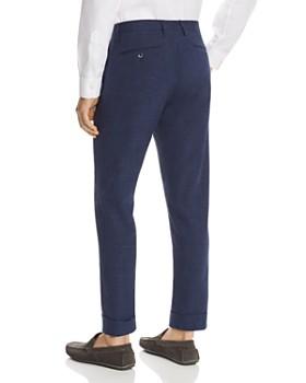 Zanella - Noah Mélange Solid Slim Fit Dress Pants