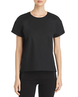 Eileen Fisher - Cuffed Short-Sleeve Top