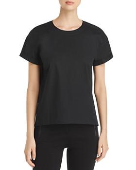 Eileen Fisher - Cuffed Short-Sleeve Top