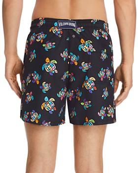 Vilebrequin - Moorea Over The Rainbow Turtle-Print Swim Shorts