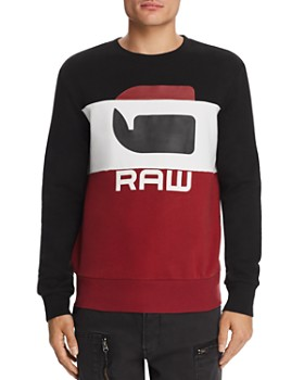 G-STAR RAW - Graphic 17 Logo-Print Core Sweatshirt