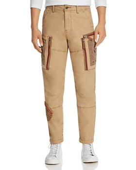 G-STAR RAW - Arris Straight Fit Cargo Jeans in Lion