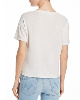 MOTHER - The High Sparrow Cropped Graphic Tee