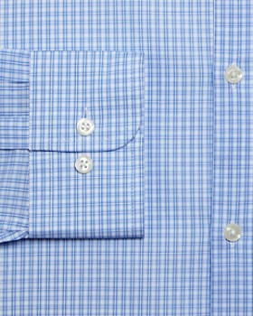 The Men's Store at Bloomingdale's - Grid Slim Fit Dress Shirt - 100% Exclusive