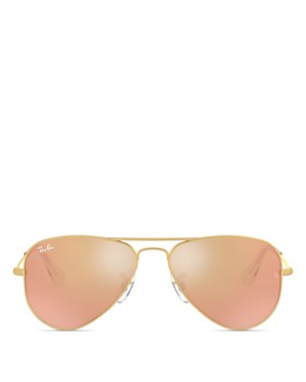 Ray-Ban - Unisex Mirrored Aviator Sunglasses, 50mm - Big Kid