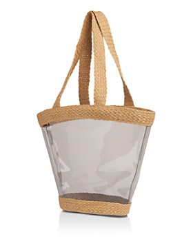 Whistles - Dean Clear & Woven Tote