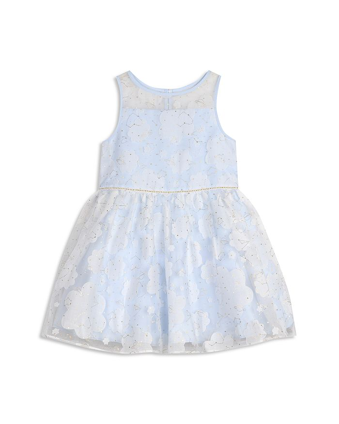 Pippa & Julie - Girls' Burnout Cloud & Constellation Dress - Baby