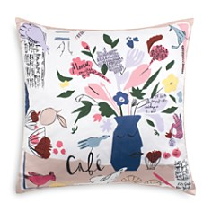 "kate spade new york - Café Scene Decorative Pillow, 20"" x 20"""