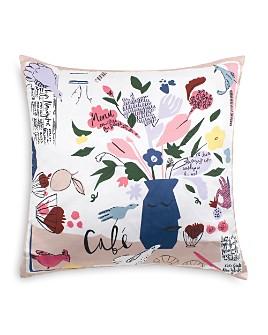 "kate spade new york - Café Scene Decorative Pillow, 20"" x 20"""
