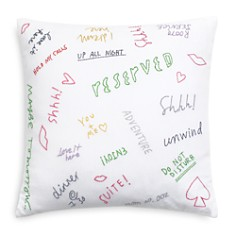 "kate spade new york - Graffiti Decorative Pillow, 18"" x 18"""