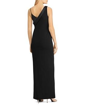 Ralph Lauren - Sleeveless Satin Gown