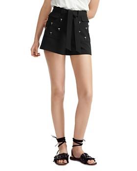0398af89d79f Maje - Ijelsa Belted Mini Shorts ...