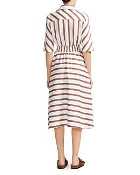 Maje - Striped Shirt Dress