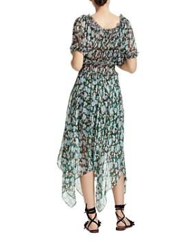 4ee8765b6c Maje - Rulli Smocked Floral Dress Maje - Rulli Smocked Floral Dress
