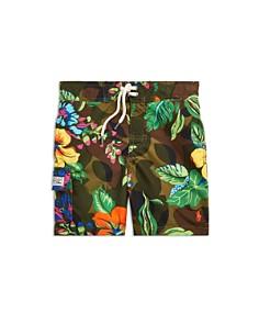Ralph Lauren - Boys' Kailua Floral-Camo Swim Trunks - Big Kid