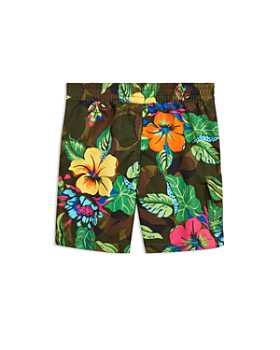 f0b8697b0a ... Ralph Lauren - Boys' Kailua Floral-Camo Swim Trunks - Big Kid