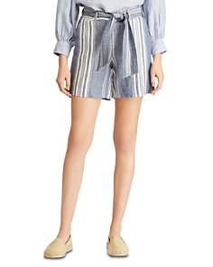 Ralph Lauren - Striped Linen Shorts
