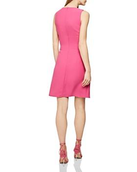 REISS - Nadia Pleat-Detail Dress