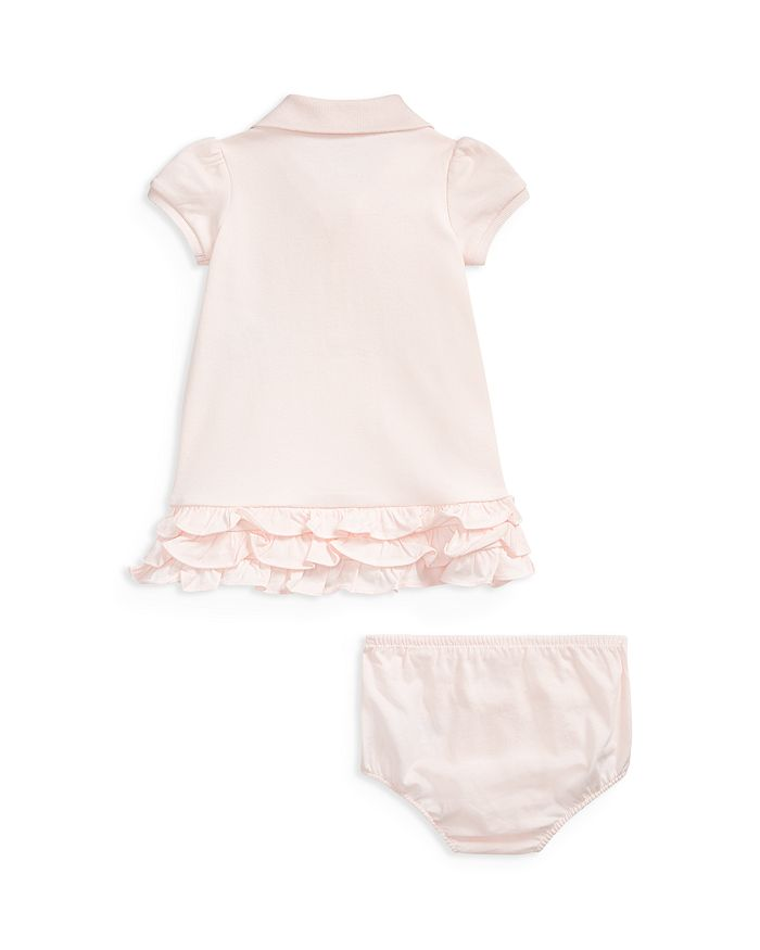 9dc7b5896 Ralph Lauren - Girls' Ruffled & Embroidered Polo Dress with Bloomers - Baby