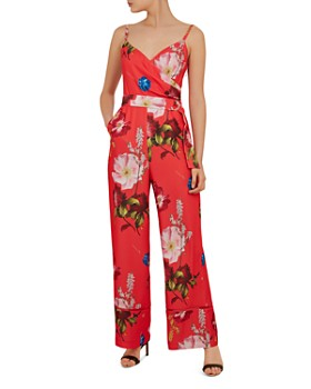 627755a62e13 Ted Baker - Piiper Berry Sundae Wrap Jumpsuit ...