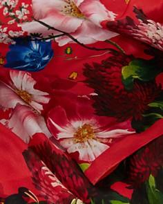 Ted Baker - Biana Berry Sundae Floral Silk Cape Scarf