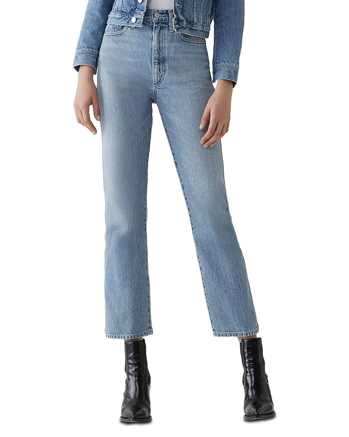 AGOLDE - Pinch-Waist Kick Flare Jeans in Impression