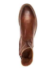 Frye - Men's Beacon Bowery Inside Zip Boots
