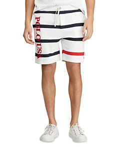 Polo Ralph Lauren - Americana Striped French Terry Shorts