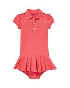 Ralph Lauren - Girls' Pique Polo Dress & Bloomers - Baby