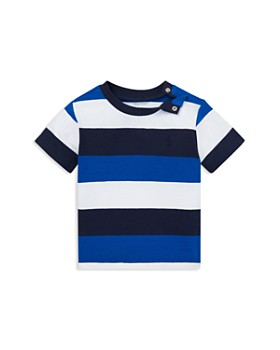 2e04037362e Ralph Lauren - Boys  Striped Cotton Jersey Tee - Baby ...