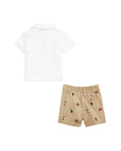 Ralph Lauren - Boys' Polo & Embroidered Twill Shorts Set - Baby