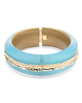 Alexis Bittar - Brass Inset Bangle Bracelet