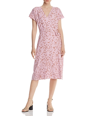 Joie Bethwyn Floral Wrap Dress