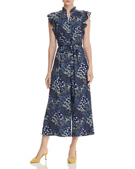 Rebecca Taylor - Ava Floral-Printed Silk Jumpsuit - 100% Exclusive