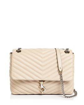 Rebecca Minkoff - Edie Medium Convertible Leather Shoulder Bag