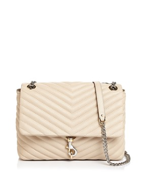 Rebecca Minkoff - Edie Medium Convertible Leather Shoulder Bag