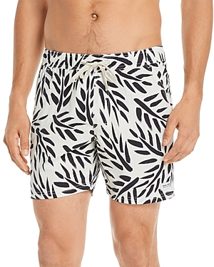 Banks Journal Leaf Print Board Shorts