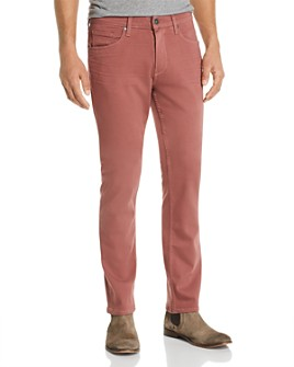 PAIGE - Lennox Slim Fit Jeans in Dusted Rose