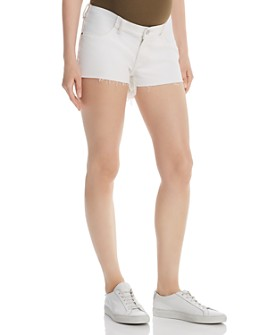 DL1961 - Renee Maternity Denim Shorts in Precision