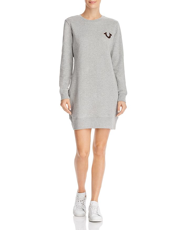 0ea0d7ab46 True Religion - Buddha Sweatshirt Dress
