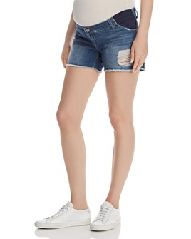 DL1961 - Karlie Maternity Denim Shorts in Sprawling