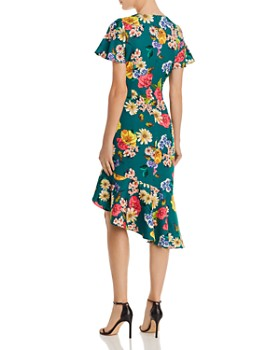 Black Halo - Reelle Floral Ruffle Dress
