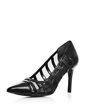 Charles David - Women's Vane Leather & Mesh Pumps