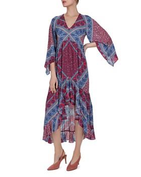 ba&sh - Usso Paisley High/Low Dress